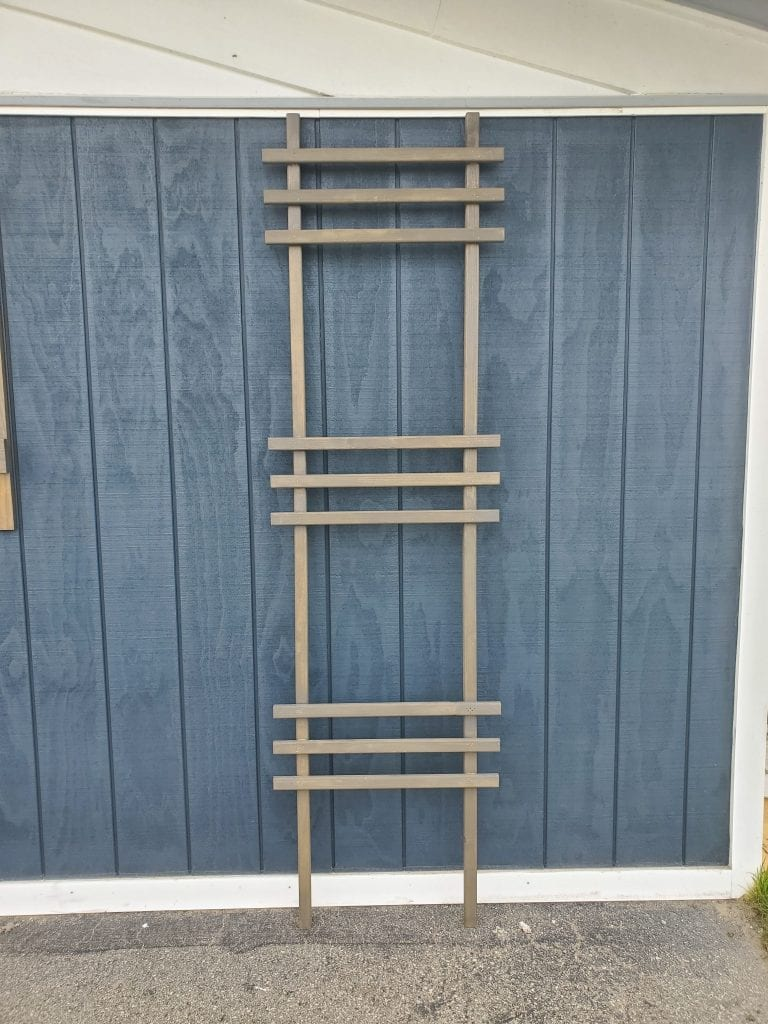 How to make a simple Ladder Trellis